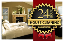 24 Hour Cleaning Guarantee